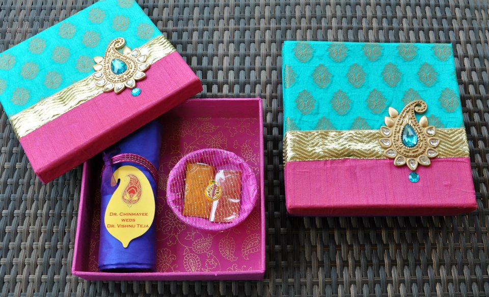 Indian Wedding Gift Card Box : waste of money and a bigger waste of paper. But hell, its a wedding ...